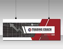 Portadas redes sociales de Trading Coach.