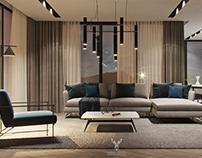 Living Room - Corona Renderer