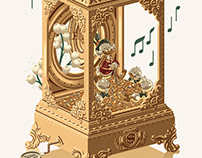 Uncle Scrooge Music Box