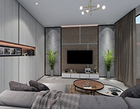 Contemporer Interior Livingroom Idea