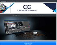 Diseño Web para Company Graphic
