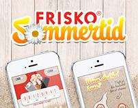 Frisko Facebook App // Frisko Sommertid 2014