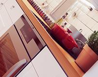 Diseño de interior de cocina. Casa Ceiba.
