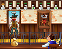 Facebook Game - Far West Bank
