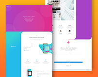 Agency Website - Landing Page -Parallax Composer
