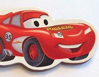 Disney Cars Race Time Shaped Boardbook Box Set