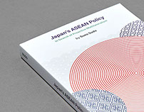 'Japan's ASEAN Policy' book cover design