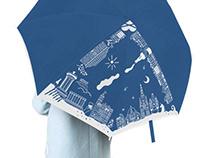 Design & Illustration | Pattern on umbrellas