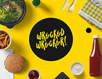 Wrecked Wrecker Branding