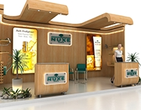 NUXE Booth Design -Natural Inspiration