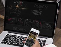 Harley Davidson - Super Sport Roadster - WebDesign