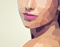 Lowpoly Digital Portrait