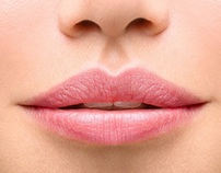 The lips, symbol of sensuality