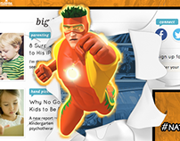 Captain Citrus 3D Animation