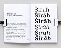 Syrah Typeface