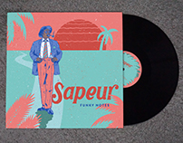 Sapeur - Vinyl cover for Funky Notes