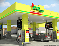 Express Gas Station New Proposal (Alucobond Cladding)