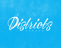 """Lettering compilation #1 """"Districts project"""""""