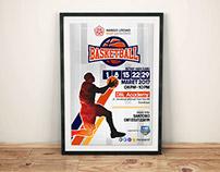 Basketball Poster A3