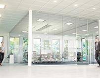 Office environments for FläktGroup