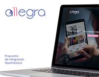 Landing page - Propuesta integración medio de pago