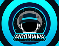 MoonmanRhines Branding and Twitch Livestream Graphics