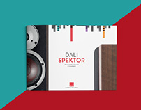 Dali Spektor speakers brochure