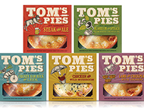 TOM'S PIES - 2015 Packaging