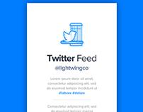 Twitter Feed UI