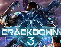 Crackdown 3 key art