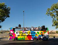 Barcelona Gay Pride Bus