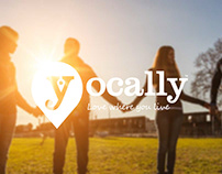 Yocally Branding and Identity