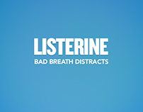 Bad breath distracts-Listerine