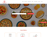 The Imperial Cord For Food Order Website Design