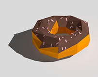 Low poly Cinema 4D animations