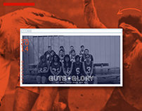 Guts + Glory Website