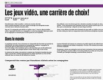 Visualisation d'information, Jeux Vidéo