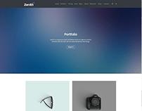 Portfolio - Large Page - Zenith WordPress Theme