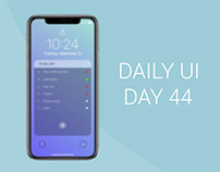 Daily UI Day 44