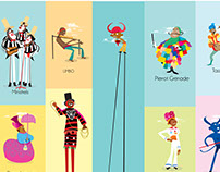 Carnival Characters in Trinidad & Tobago