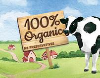 Vinamilk Organic Packaging