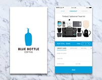 Blue Bottle Coffee App Check Out Process