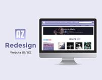 AZLyrics UI/UX Redesign