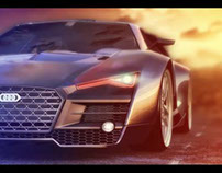 My Concept car AUDI R10