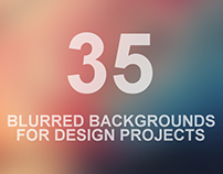 35+ Best Blurred Backgrounds for Your Design Projects