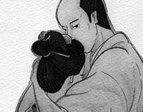 """小説現代9月号「里和と勘平」""""Riwa and Kanbei"""""""
