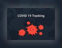 """Design """"COVID 19 Tracking"""""""