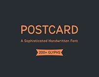 Postcard Font