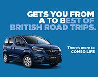 Vauxhall Combo Life - Overview Website
