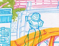 More Random Sketchbook Drawings